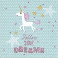 Guardanapo Follow Your Dreams - 2 unid..