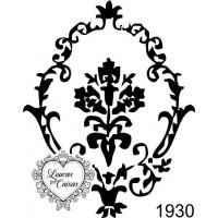 Carimbo arabesco ref 1930  tam 5 x 6 cm..