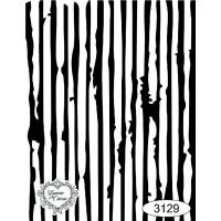 Carimbo fundo listras ref 3129 tamanho 9,5 x 7,3 cm