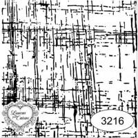 Carimbo linho ref 3216  tamanho - 6,6 x 6,6  cm