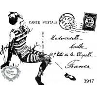 Carimbo cartão postal ref 3917