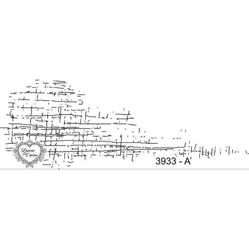 Carimbo textura linho ref 3933 tamanho 13 x 4,5 cm