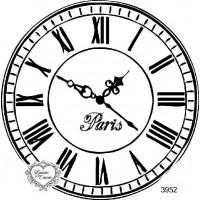 Carimbo relógio g ref 3952 - 10 x 10 cm