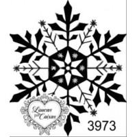 Carimbo floco neve ref 3973 - 3.2 c 3.7 ..