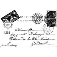 Carimbo envelope post card ref 4262 - ta..