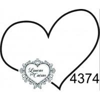 Carimbo Coração Simples