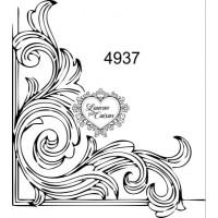 Carimbo cantoneira ref 4937 - tam 6 x 6.7 cm