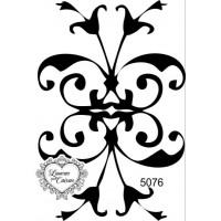 Carimbo arabesco ref 5076 - tam 5.1 x 7.5 cm
