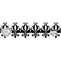 Carimbo barra arabesco ref 5278 - 10.6 x 2.9 cm