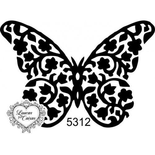Carimbo borboleta m ref 5312