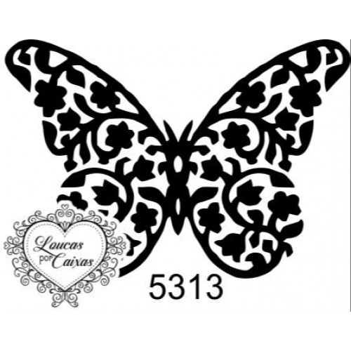 Carimbo borboleta p ref 5313