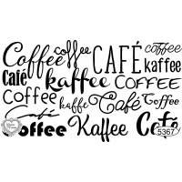 Carimbo texto café ref 5367 - tamanho 7,9 x 4,5 cm