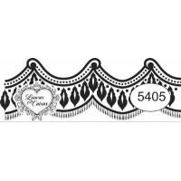 Carimbo ref 5405 barra rendada - tam 7 x 2.5 cm