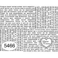 Carimbo Jornal - 10x8 cm