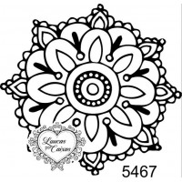 Carimbo Mandala M - 5,5 x 5,5 ref. 5467