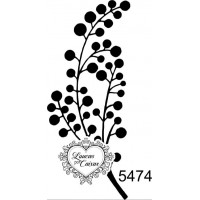 Carimbo Galho 3 x 6,5  Ref. 5474