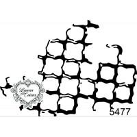 Carimbo Textura G -  7 x 5 Ref. 5477