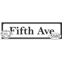 Carimbo Placa Fifth Ave - Tam. P - Ref. ..