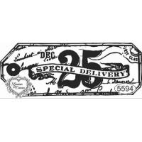 Carimbo 25 Dec. Special Delivery - 9,5 x 3,5 cm - Ref. 5594