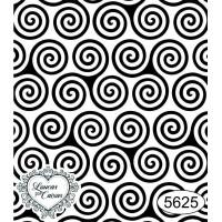 Carimbo Estampa Espiral - 6x7cm - Ref 5625