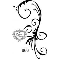Carimbo arabesco ref 866..