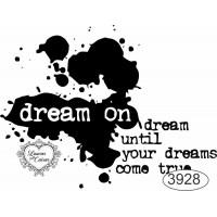 Carimbo Dream On - 7x5,5cm - Ref. 3928 ..