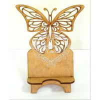 Porta celular borboleta