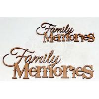 Family memories 15 cm - 2 un..