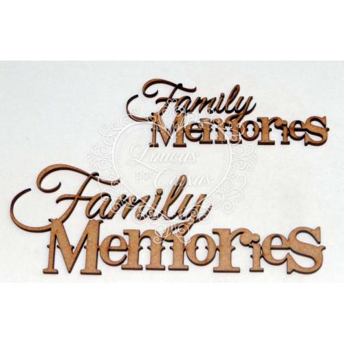 Family memories 15 cm - 2 un