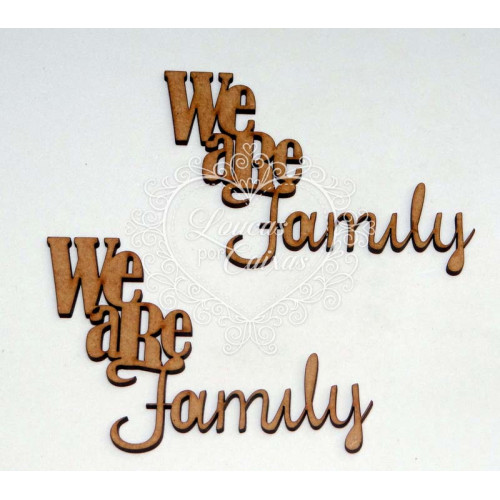 We are family - 2 unidades