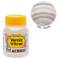 VERNIZ VITRAL INCOLOR/37ML  ..