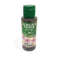 Tinta acrílica fosca 60ml Nature Colors - Sépia