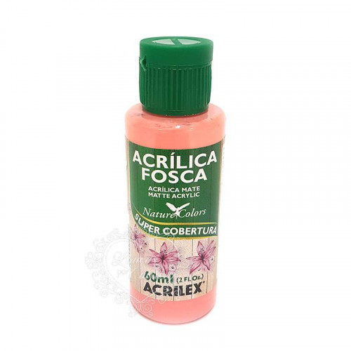Tinta acrílica fosca 60ml Nature Colors - Rosa Antigo