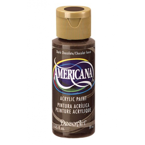 Tinta Decoart Americana Dark Chocolate