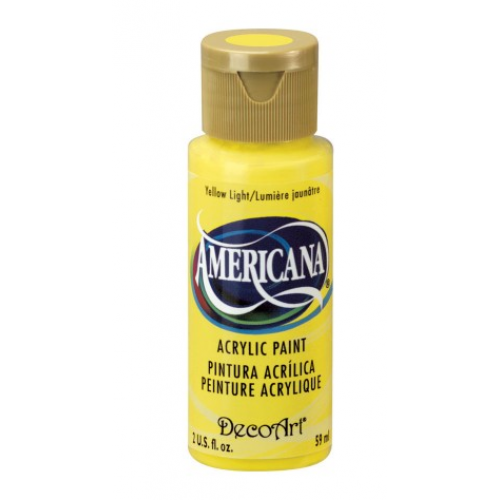 Tinta Decoart Americana Yellow Light
