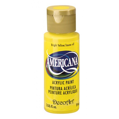 Tinta Decoart Americana Bright Yellow