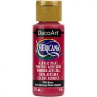Tinta Decoart Americana Wild Berry