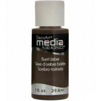 Tinta Decoart Media Fluid Burnt Umber..