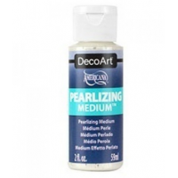 Auxiliar de Efeito Perolado - Pearlizing Medium Decoart - 59 ml