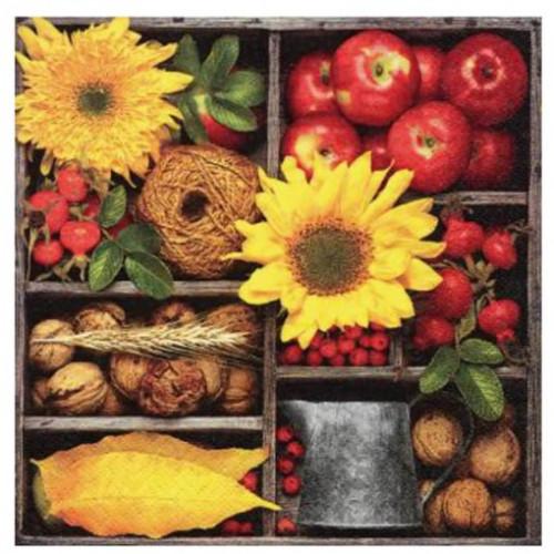 Guardanapo Autumn Composition - 2 unid