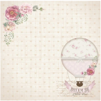 Papel 180g It's a Baby 1 - Dupla face 30,5 x 30,5 cm