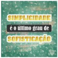 Card - Simplicidade é o último grau de sofisticação