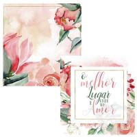 Card - O melhor lugar é onde tem amor