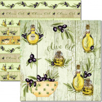 Papel  Olive 2 - 180g Dupla Face 30.5x30..