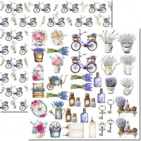 Papel Provence 9 - 180g Dupla Face 30.5x..