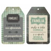 Aplique Tag Familia..