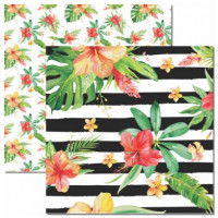Papel Verão Tropical 2 - 180g Dupla Face..
