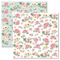 Papel Rose e Mint 1 - 180g Dupla Face 30..