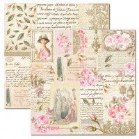 Papel Rose e Mint 6 - 180g Dupla Face 30.5x30.5