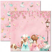 Papel Sweet Girl 1 - 180g Dupla Face 30.5x30.5